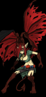 concept demon horns key red_eyes red_hair ridley runic(artist) tail varachian wings // 360x750 // 198.0KB // $artist