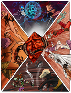 alti axius battle bighead celestial cheyan cola(artist) cyborg_necromancer demon einheit12(artist) fight five(artist) kensington leigh liza magic nudity round_23 runic(artist) velvet_starr // 700x917 // 843.2KB // $artist